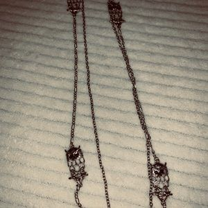 Jewelry - 5/$25 silver owl necklace